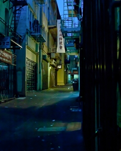 Alleys of San Francisco