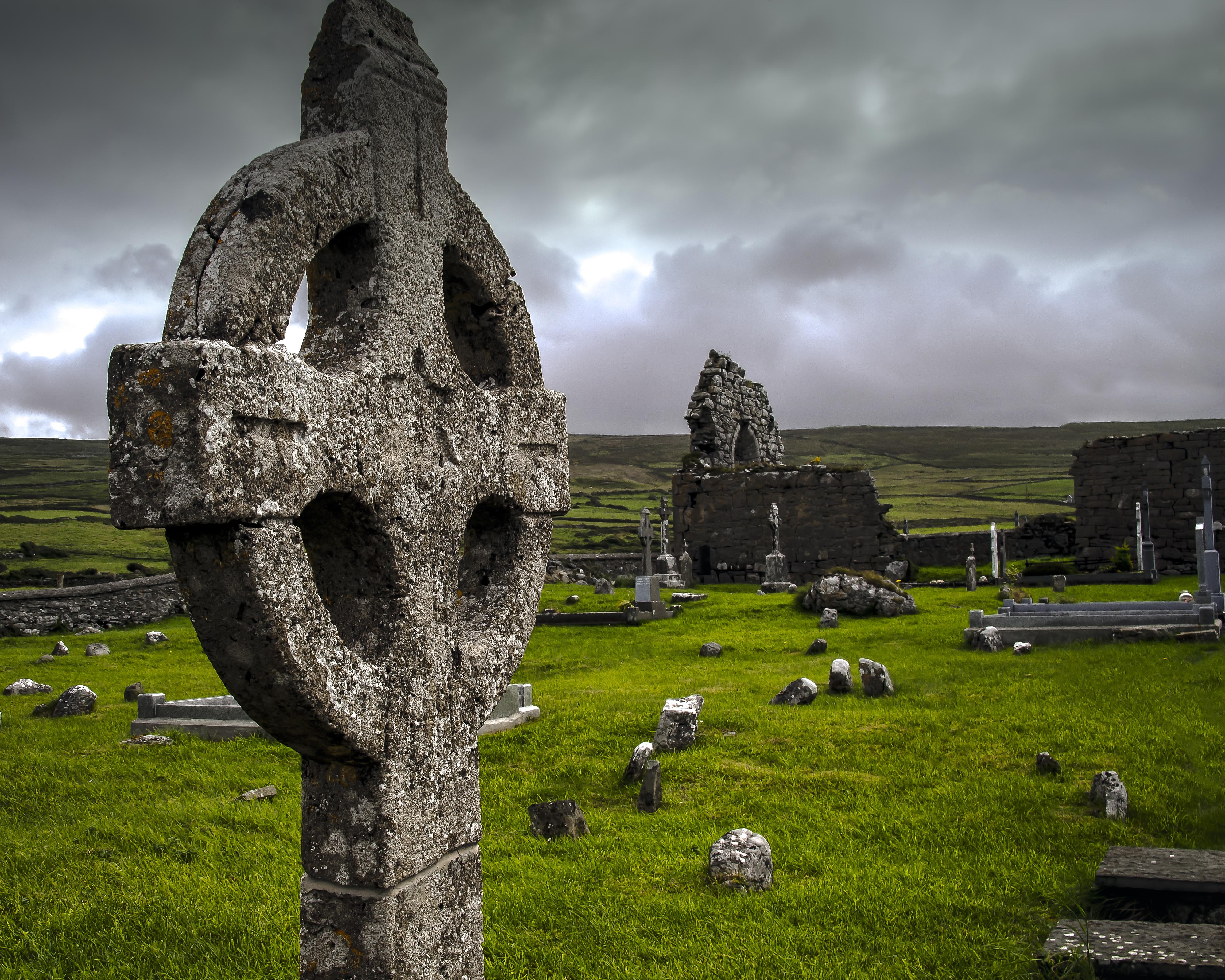 кельтский крест легенда