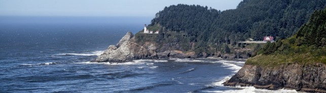 Haceta Head Lighthouse on Oregon Coast