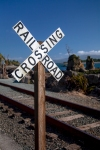 Oregon Coast Railroad Crossing