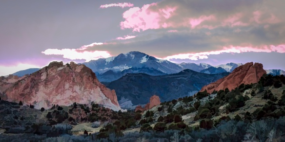 Pike's Peak - Fine Art Photography