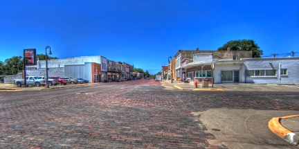 Downtown Clyde, Kansas