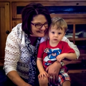 Colton with Grandma Julie