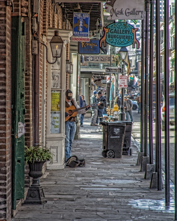 French Quarter Guitar 1j