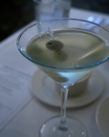 25-cent Martini at Commander's Palace
