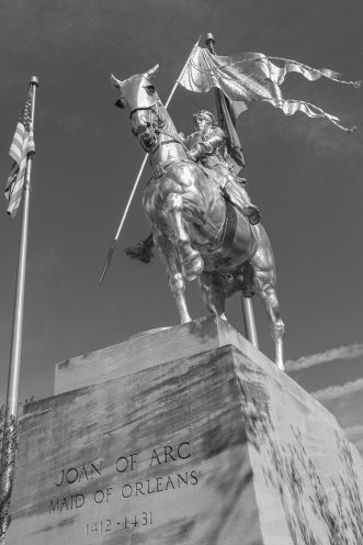 Joan of Arc 1 b&w j