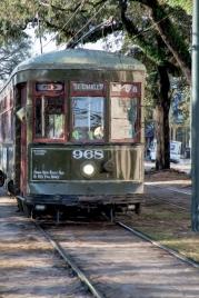 Saint Charles St Streetcar