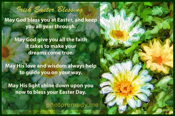 Irish Easter Blessing da j signed