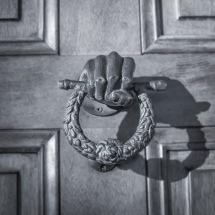 Houmas Door 1x1j b&w