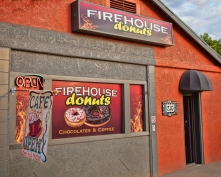 Firehouse Donuts - near Old Town Cottonwood, AZ