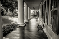 3) Houmas House Plantation Porch - Vacherie, LA
