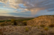 11) Summer Storm - over the Verde Valley near Sedona, AZ